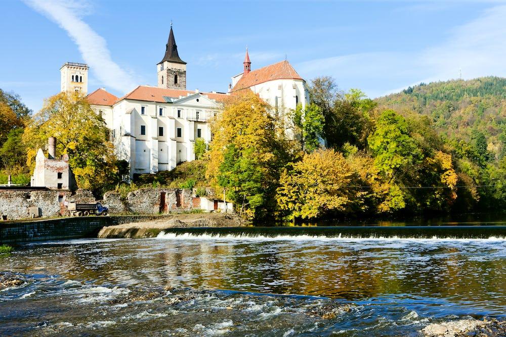 Sazava monastery