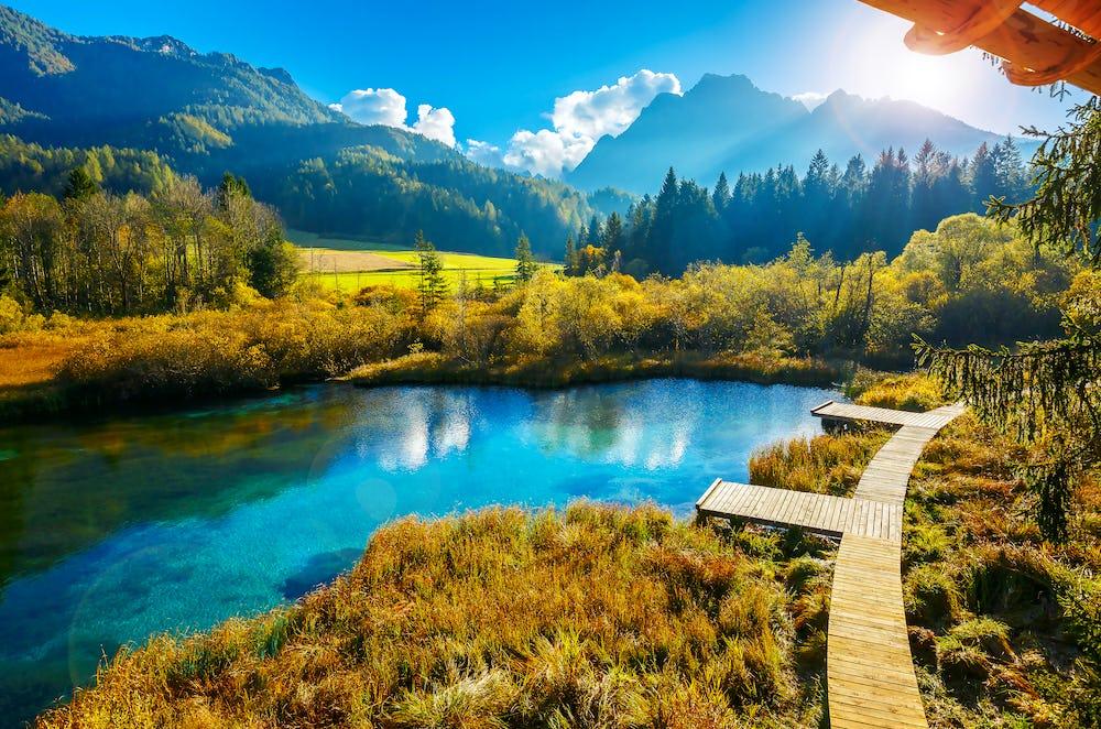 Kranjska Gora - Zelenci Lake