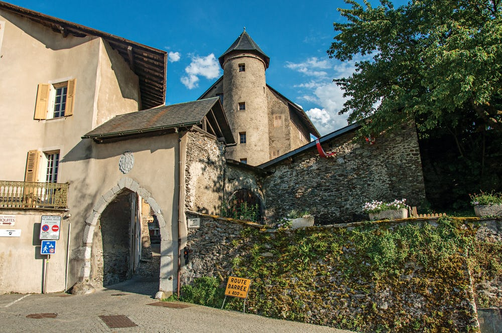 Medieval town of Conflans
