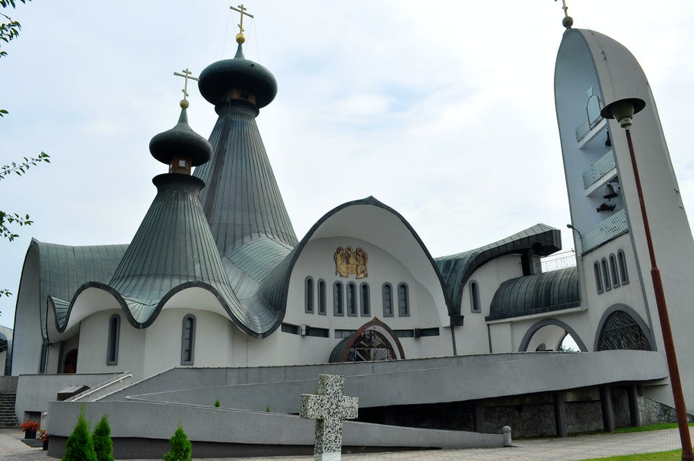 Holy Trinity Orthodox Church in Hajnowka