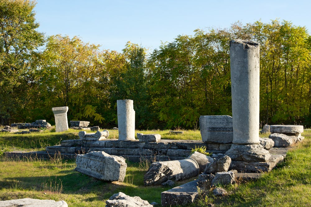 The Ancient Town of Nicopolis ad Istrum