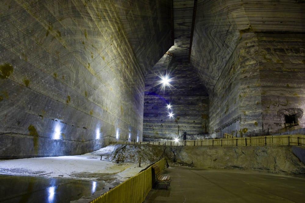 Salina Veche Salt Mine