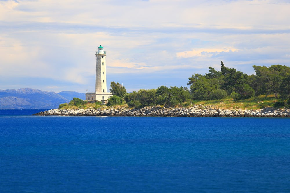 Tower of Tzanetakis Lighthouse of Gythio