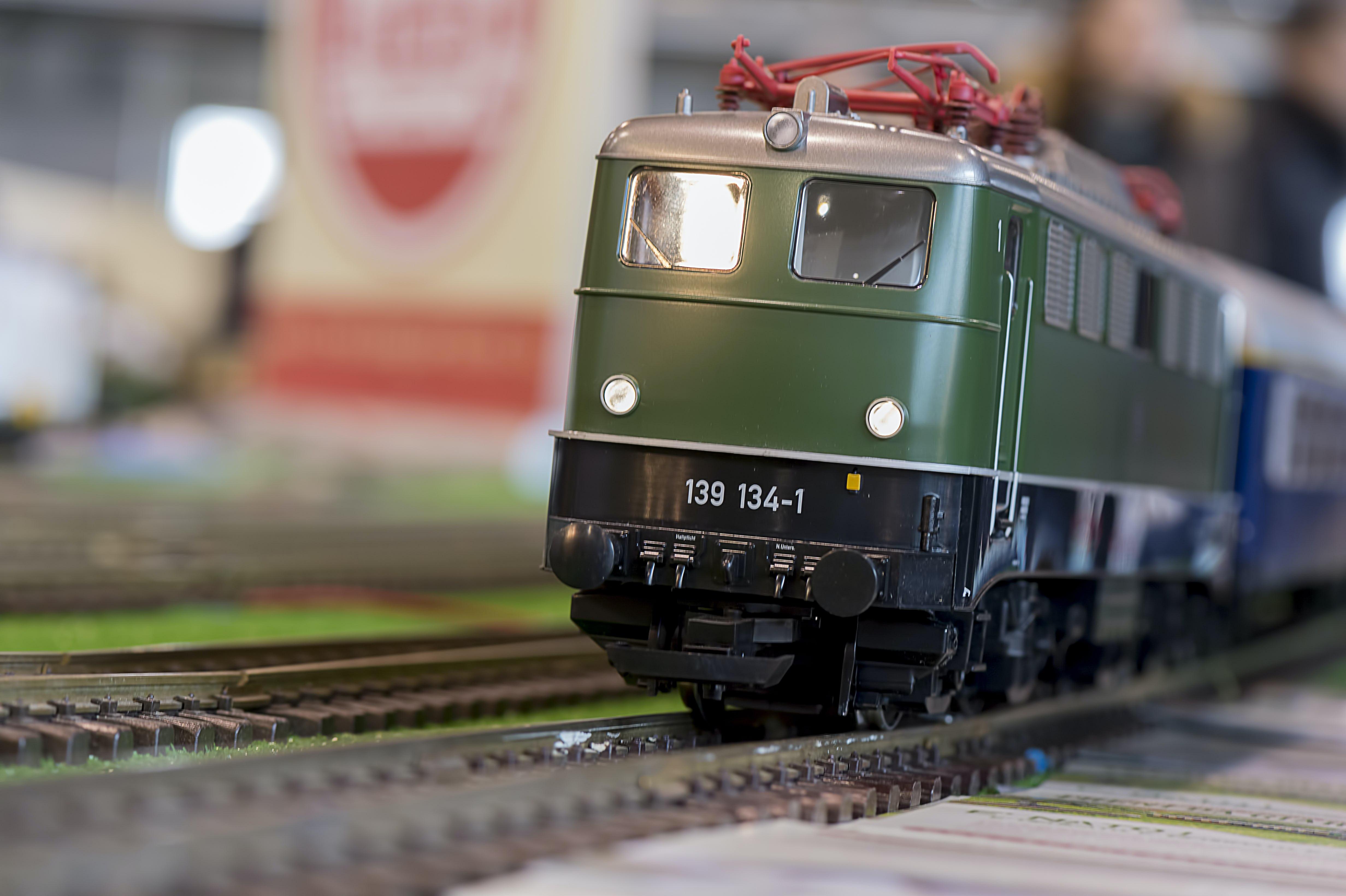 Train models museum