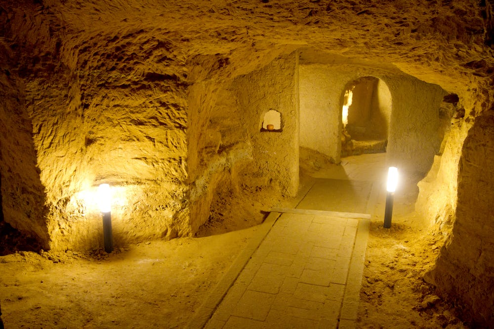 Caves of the Villa