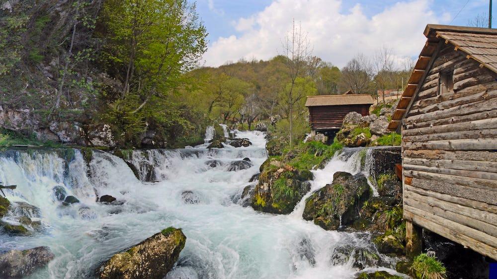 Krupa Waterfall