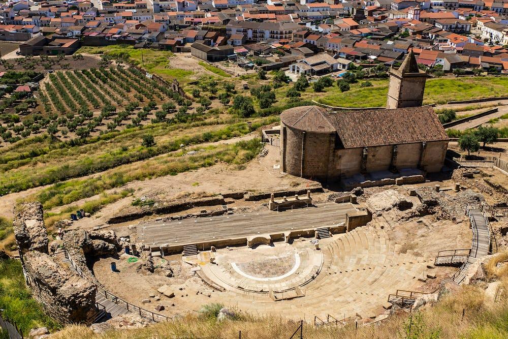 Roman Theatre of Medellin