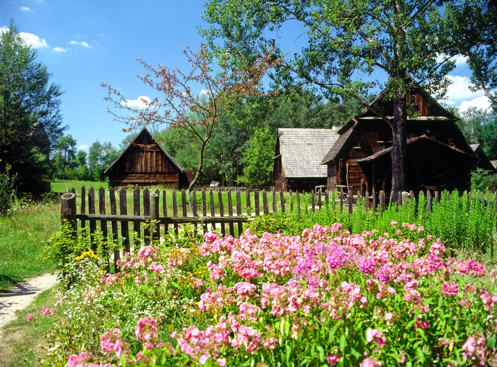 Opole open air museum of rural architecture