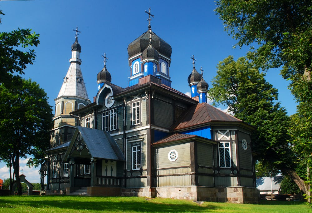 Orthodox Church in Puchly