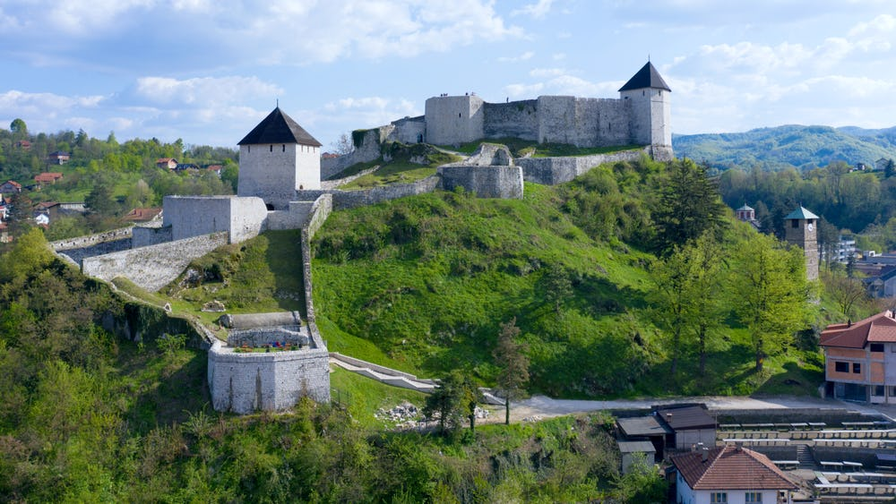 Tesanj Castle