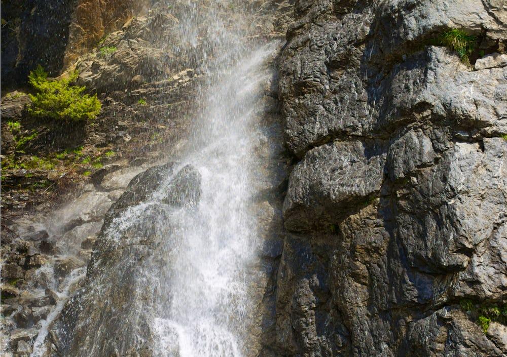 The Goritsa Waterfall